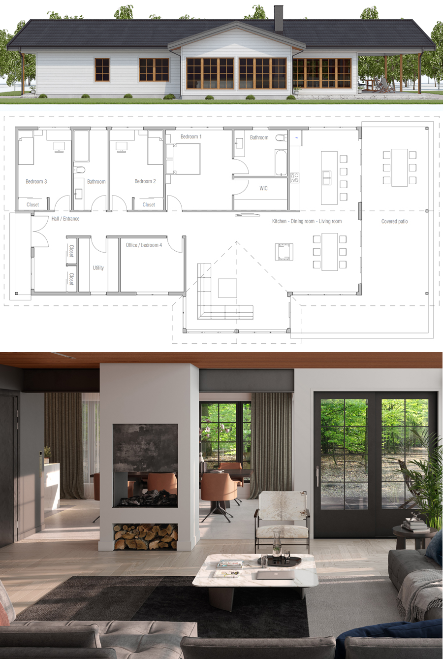 Plan Interieur Maison Moderne Floor Plan Floorplans Plan De Maison Floor Plans In 2019