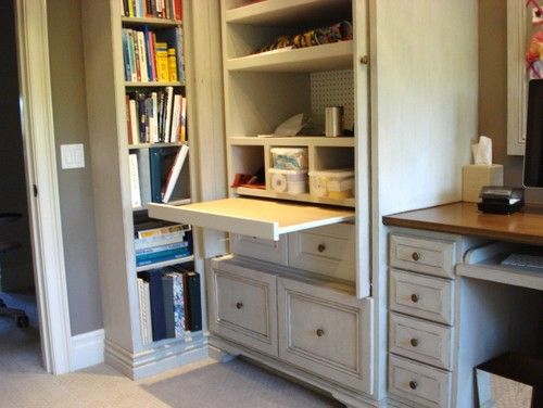 Our Work Traditional Home Office Orange County Garcia Cabinetmakers