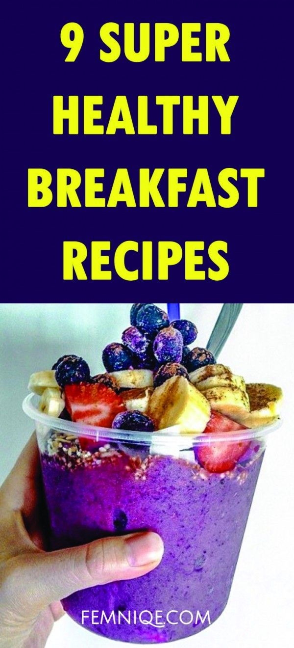 Healthy Breakfast Recipes For Weight Loss reAL