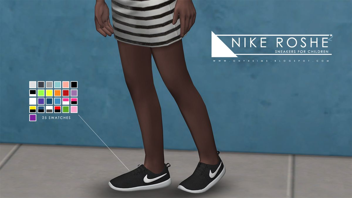 Image result for sims 4 child nike shoes