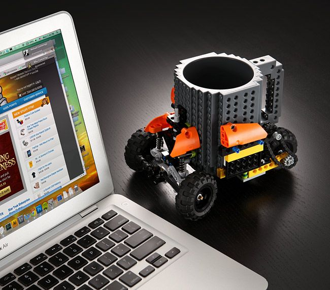 Lego :: Build-On Brick Mug | Interesting things | Pinterest | Bricks ...