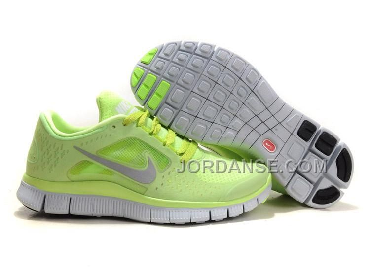 Liquid Lime Reflective Silver Pro Platinum Volt Womens Nike Free Run 3 Sale