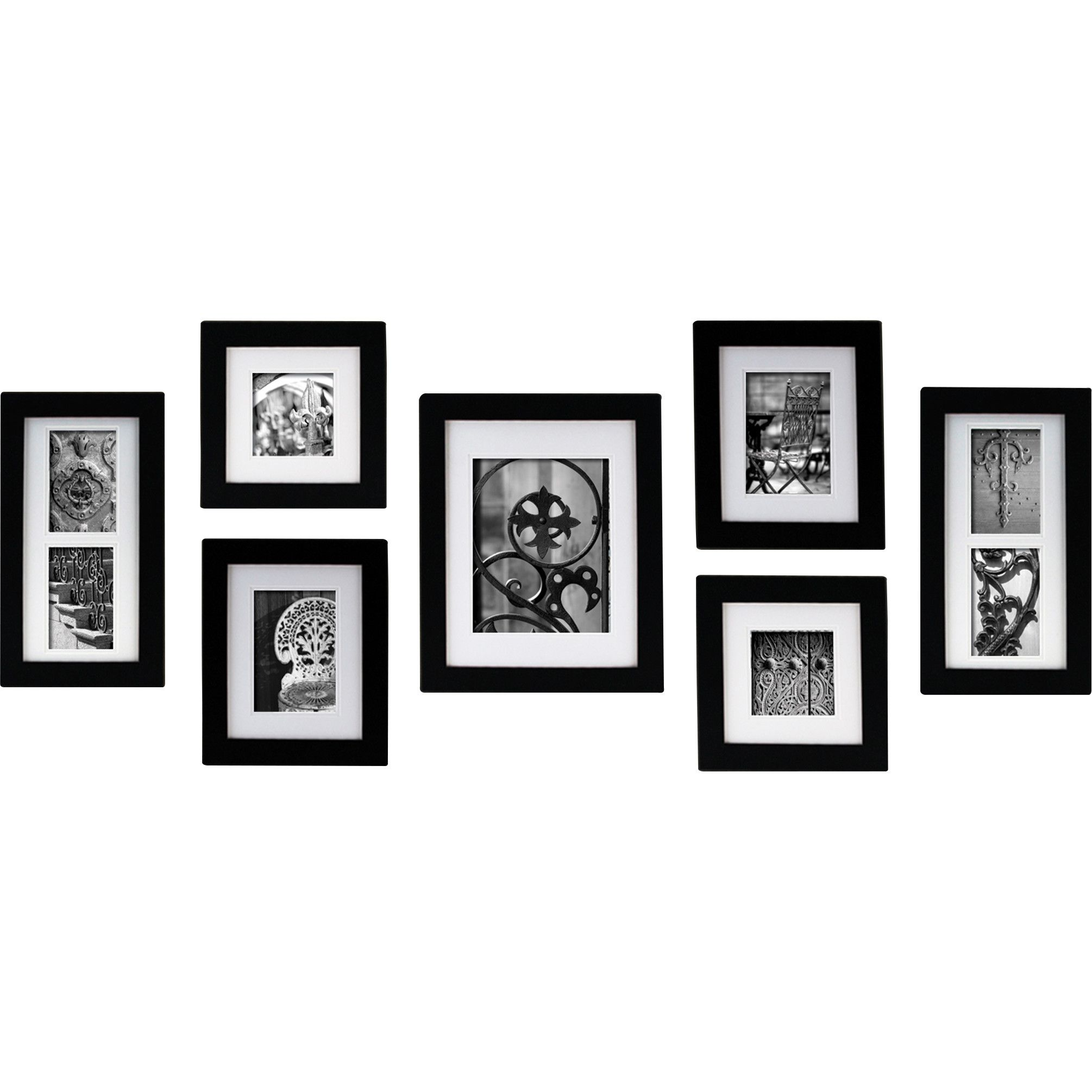 Nielsen Bainbridge Gallery 7 Piece Portrait Picture Frame Set ...