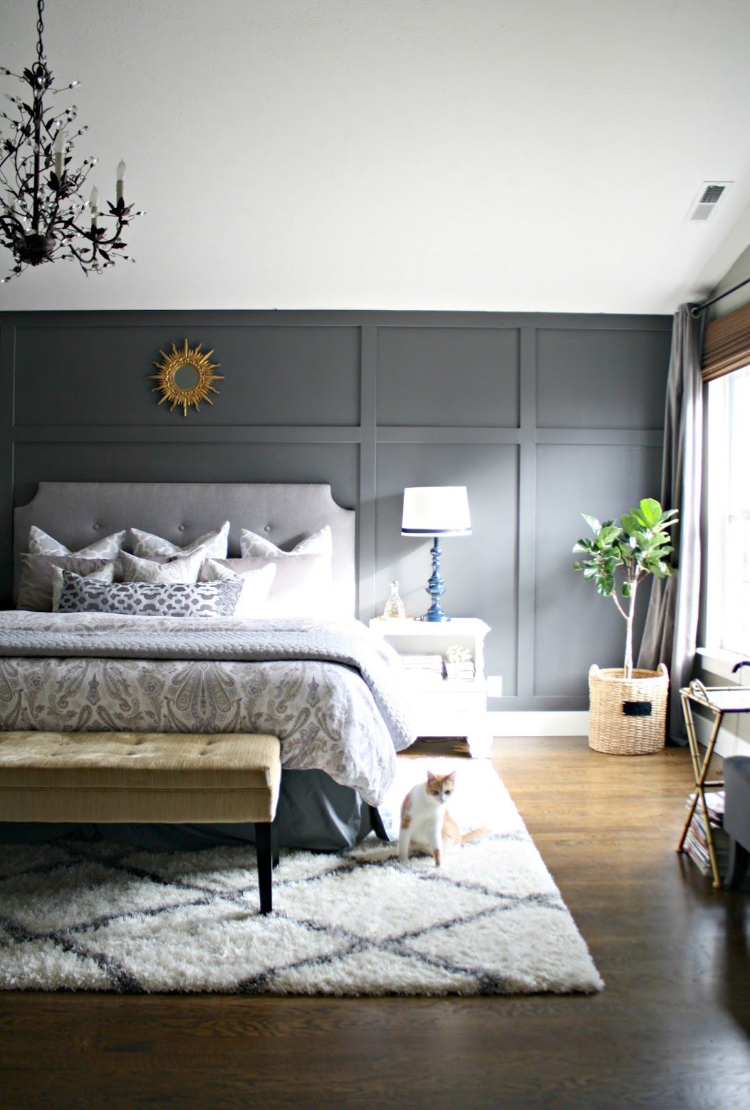 master bedroom accent wall ideas gaining a few inches thrifty decor thrifty 19088