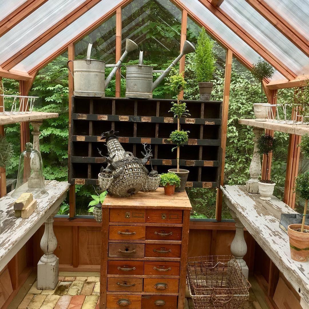conservatorygreenhouse | She Shed | Pinterest | Conservatories ...