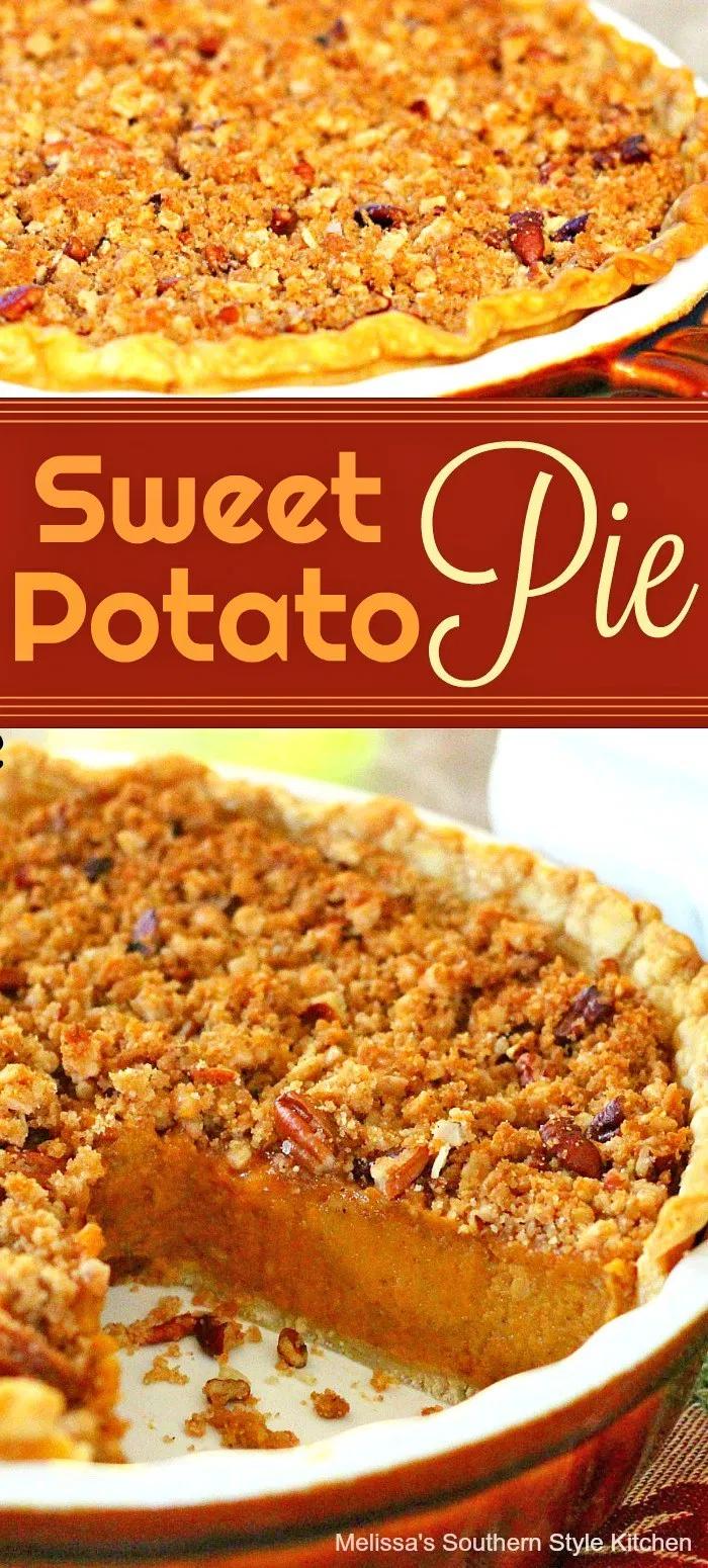 A Southern Classic Sweet Potato Pie - melissassouthernstylekitchen.com