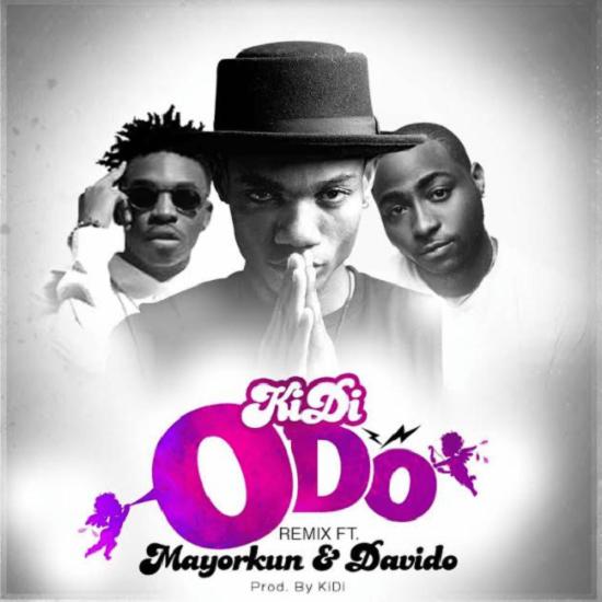 Listen up to ODO (Remix) by Kidi ft. Davido & Mayorkun.