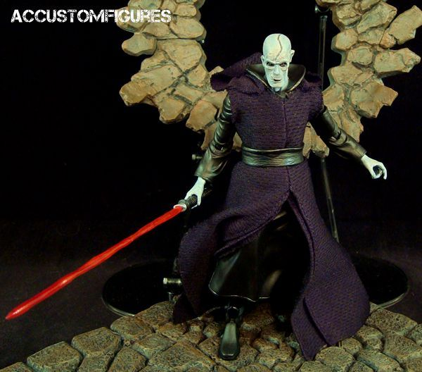 "Supreme Leader Snoke (6"" Black Series) (Star Wars) Custom Action Figure"