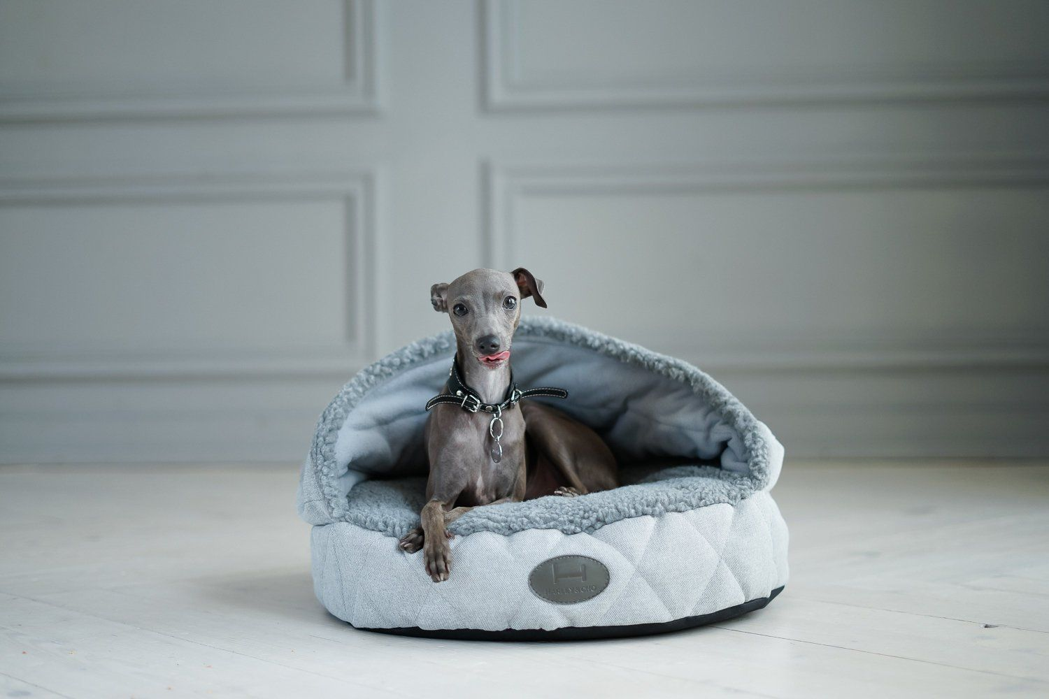 Plush Cave Bed For Dog Bed Cave Snuggly Bedding Italian Etsy Dog Bed Dog Hotel Mini Dogs