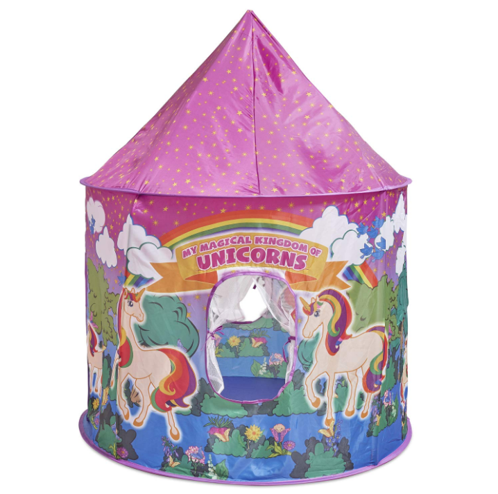 Unicorn Pop Up Kids Play Tent Wendy House Easy to Assemble