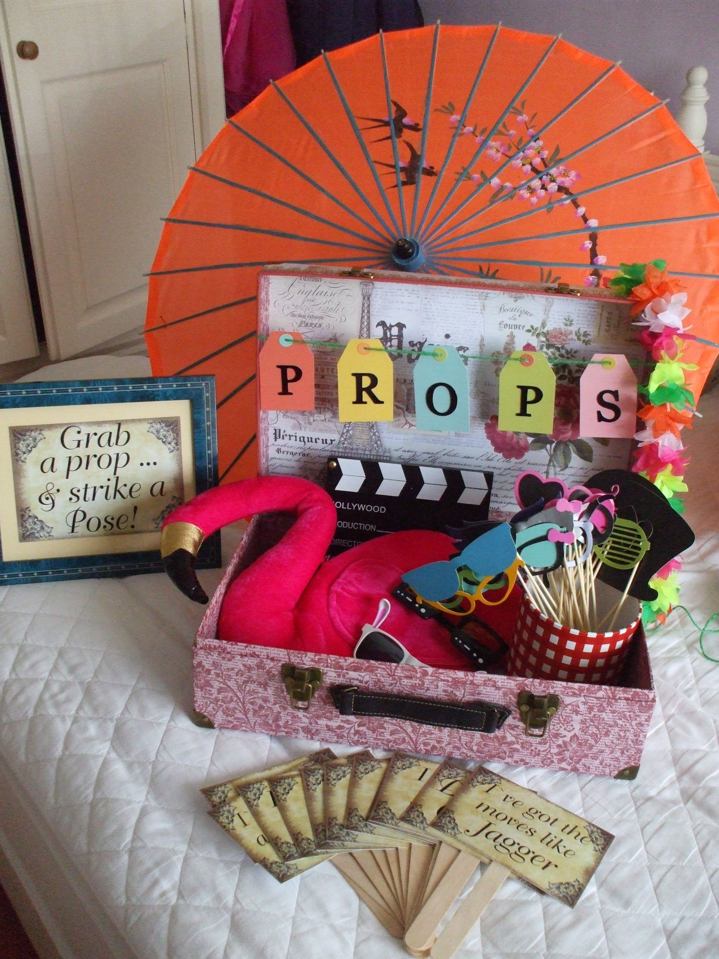 props for wedding 30/05/14