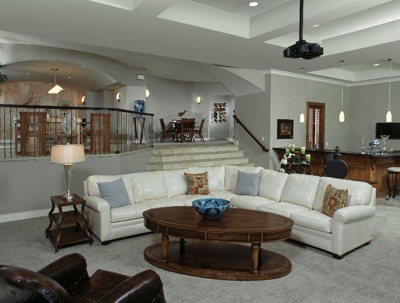 20 Brilliant Sunken Living Room Designs  Living Rooms Clean Simple Clean Living Room Inspiration