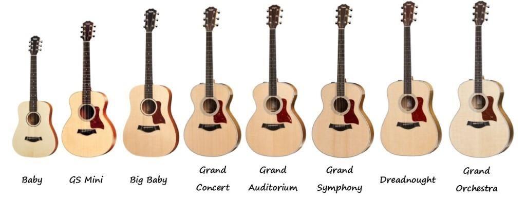 Taylor Guitars Categorized By Shape Martin Guitar Taylor Guitars Taylor Guitars Acoustic