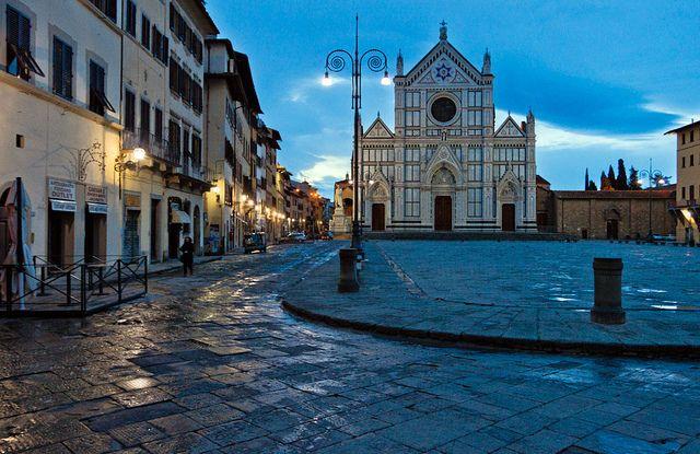 Basilica di Santa Croce, Firenze, Italia | Flickr - Photo Sharing!