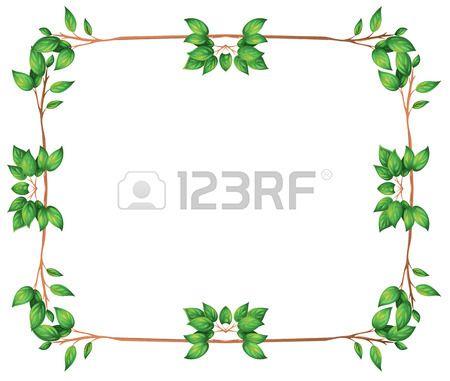 Marcos y bordes de hoja imagui marcos pinterest social studies - Marcos para plantas ...