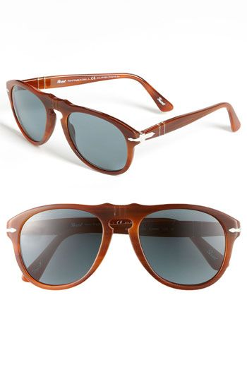5185c83954 Persol Retro Keyhole Polarized 54mm Sunglasses available at  Nordstrom