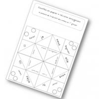 Cocotte de la conjugaison - les verbes du 1er groupe au présent