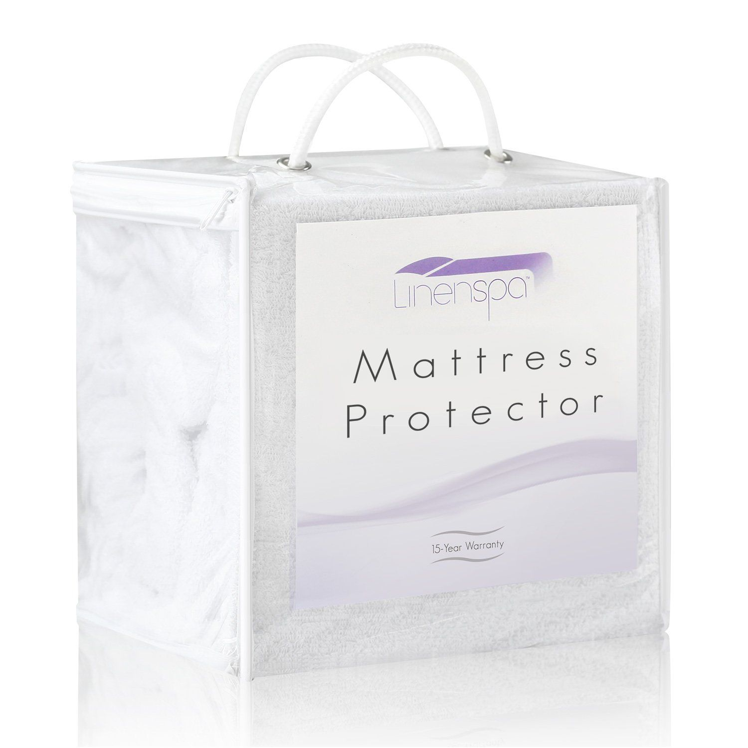 linenspa 100 waterproof mattress protector eliminates dust mites
