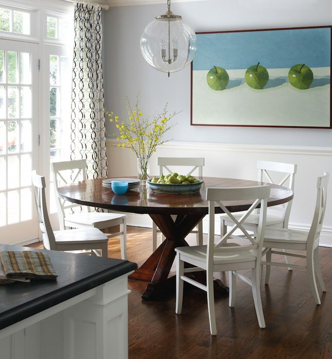 Design For Kitchen With Beadboard And Chairrail: Fun Contemporary Dining Room