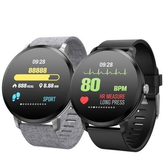 Verfolgen Sie Ihre Gesundheit in Echtzeit! Fitness-Tracker mit Metallbandüberwachung und Aufzeichnun...