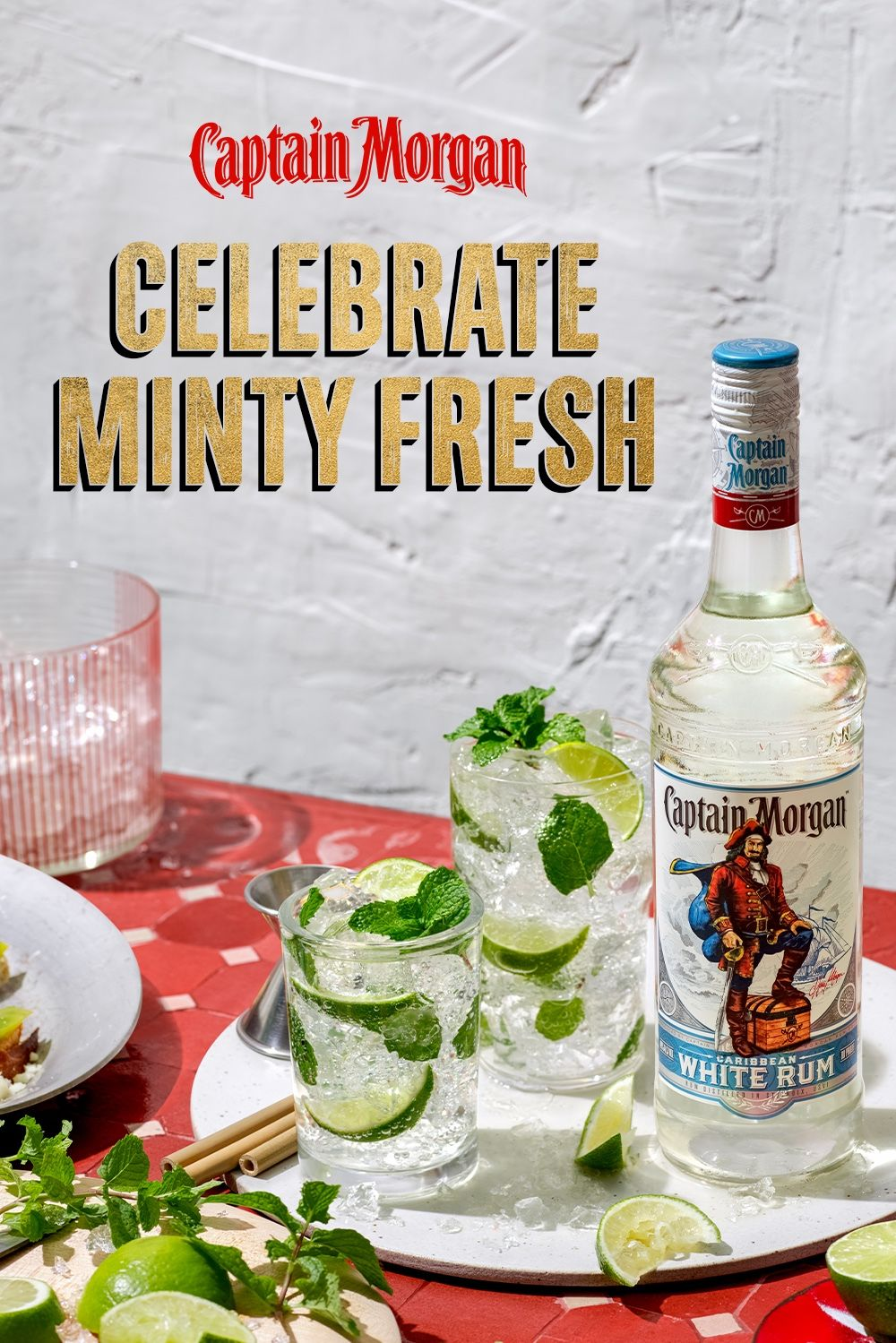 Birthdays Holidays Tuesdays All Good Occasions To Celebrate With Cocktails Make Yours Mint With A Capta In 2021 Alcohol Drink Recipes Drinking Tea Alcoholic Drinks