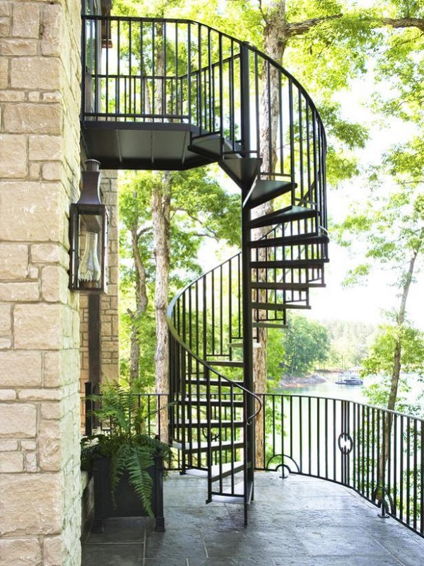 868 336 Exterior Home Design Ideas Remodel Pictures: 32 Farmhouse Staircase Decor Ideas (With Images)