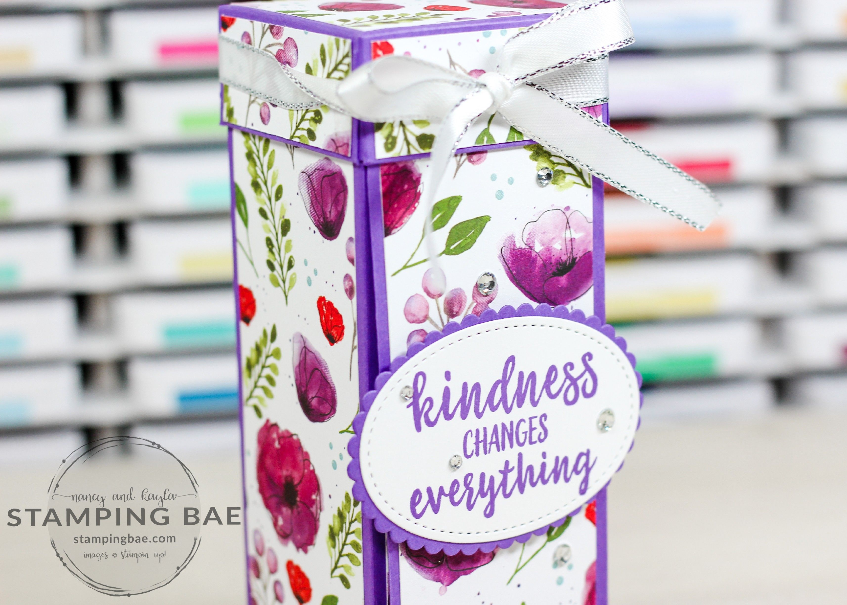 How to Make a Candy Tower in 2020 Cute box, Stamping up
