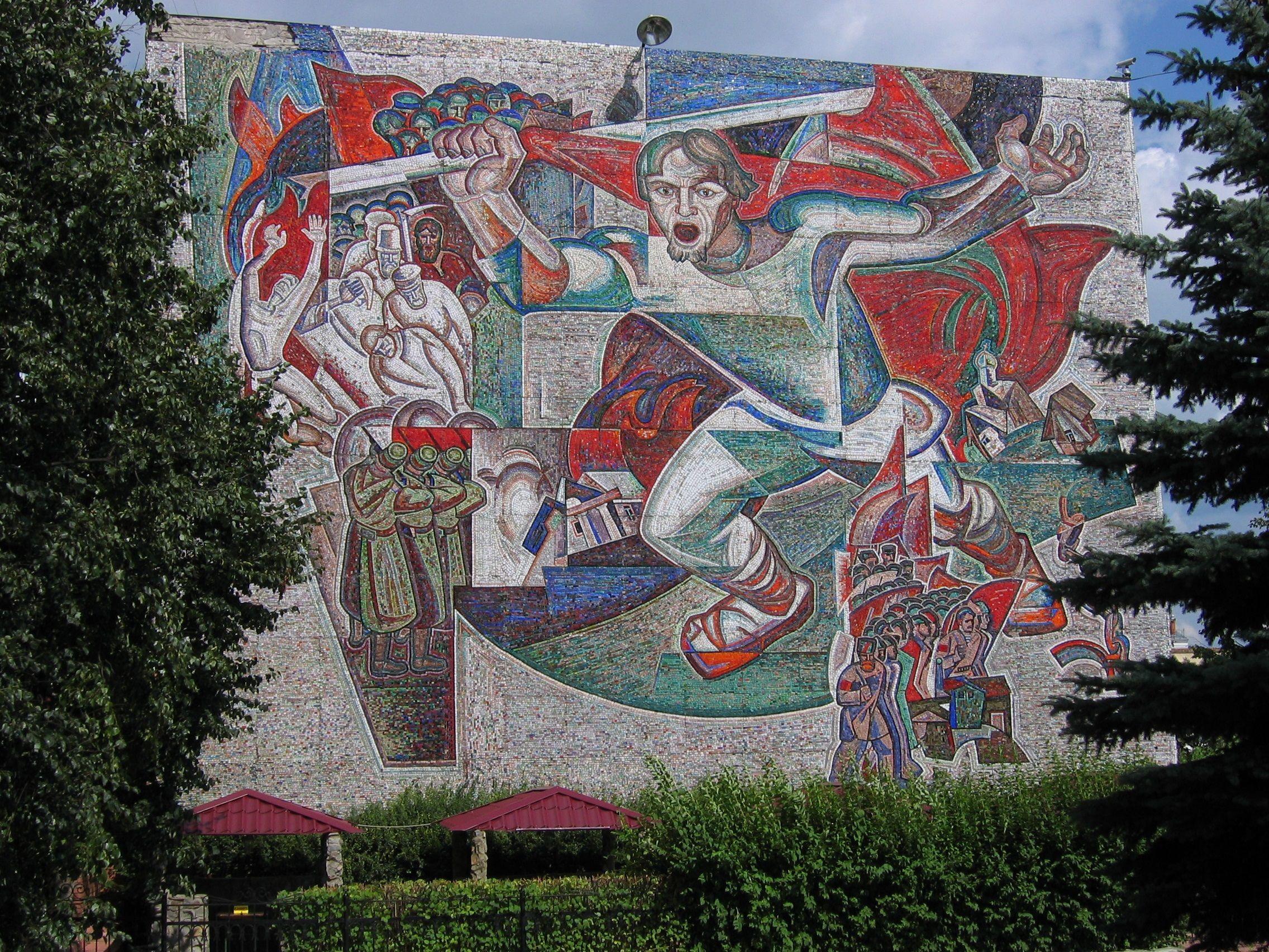 Монументальная живопись картинки с чувашским орнаментом