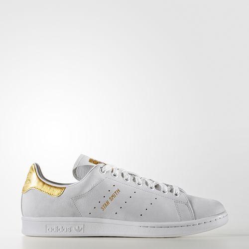 san francisco 08999 c9247 Chaussure Stan Smith Gold Leaf - blanc. Chaussure Stan Smith Gold Leaf - blanc  Basket Chaussure, Faire Plaisir, Mode, Chaussures