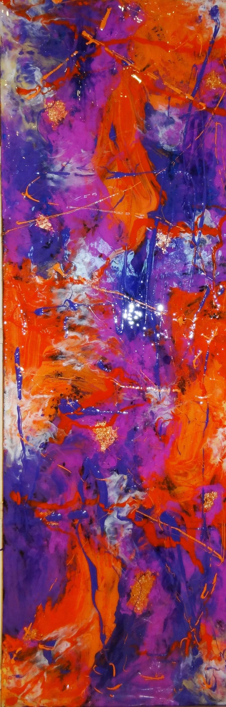 Pin By Marsha Gulick On 761 Lisafrankstyle Bright Cyans Orange Pink Purple Red Mix Colorblock Cysorpkplrdyeorrd Jewel Purple Art Painting Bedroom Colors Purple
