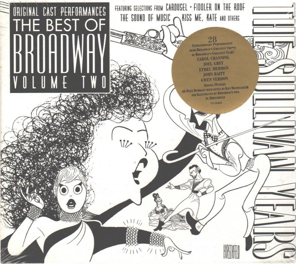 Carol Channing The Sullivan Years Best of Broadway Vol 2
