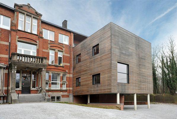 Construction du0027une annexe pour une maison de repos à Charleroi