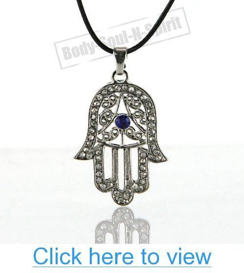White hamsa necklace hand of god evil eye charm pendant jewish white hamsa necklace hand of god evil eye charm pendant jewish judaica kabbalah white aloadofball Choice Image
