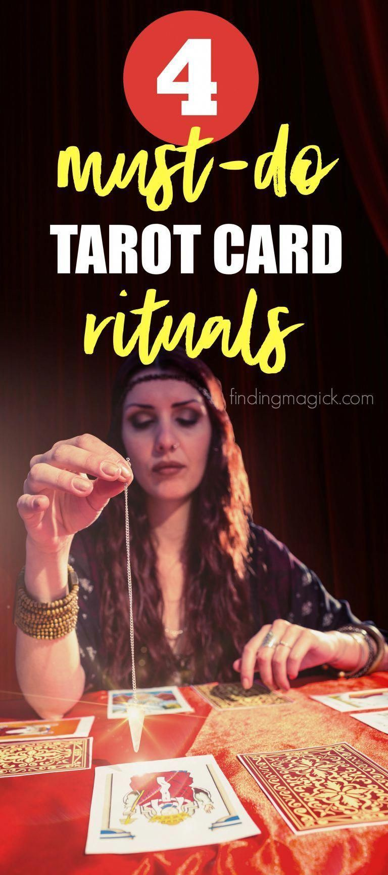 Did you know you can cleanse tarot decks in 4 easy steps
