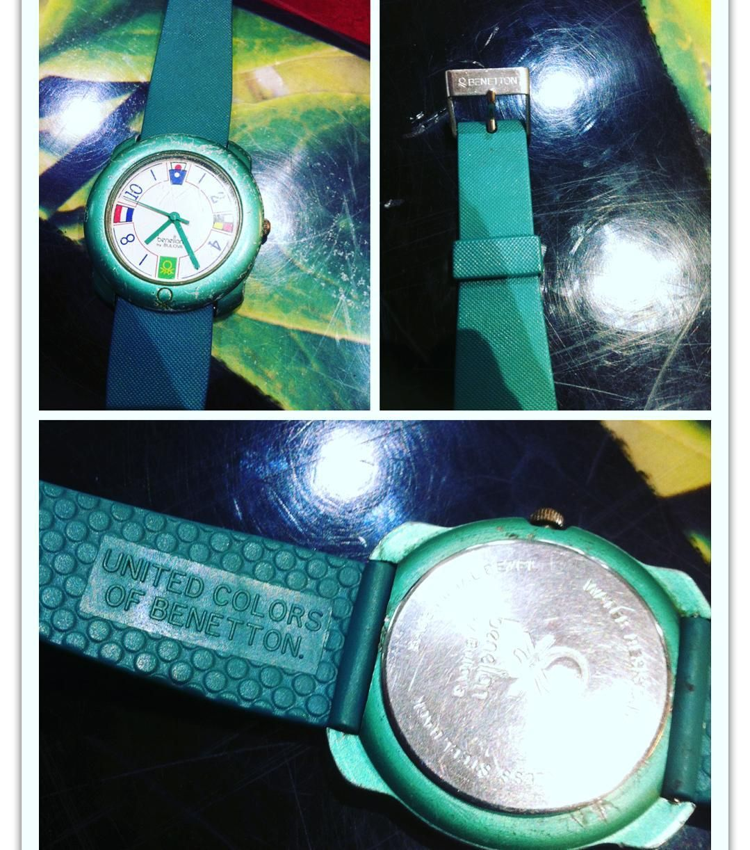 Vintage Watch United Colors Of Benetton By Bulovastrap Benetton