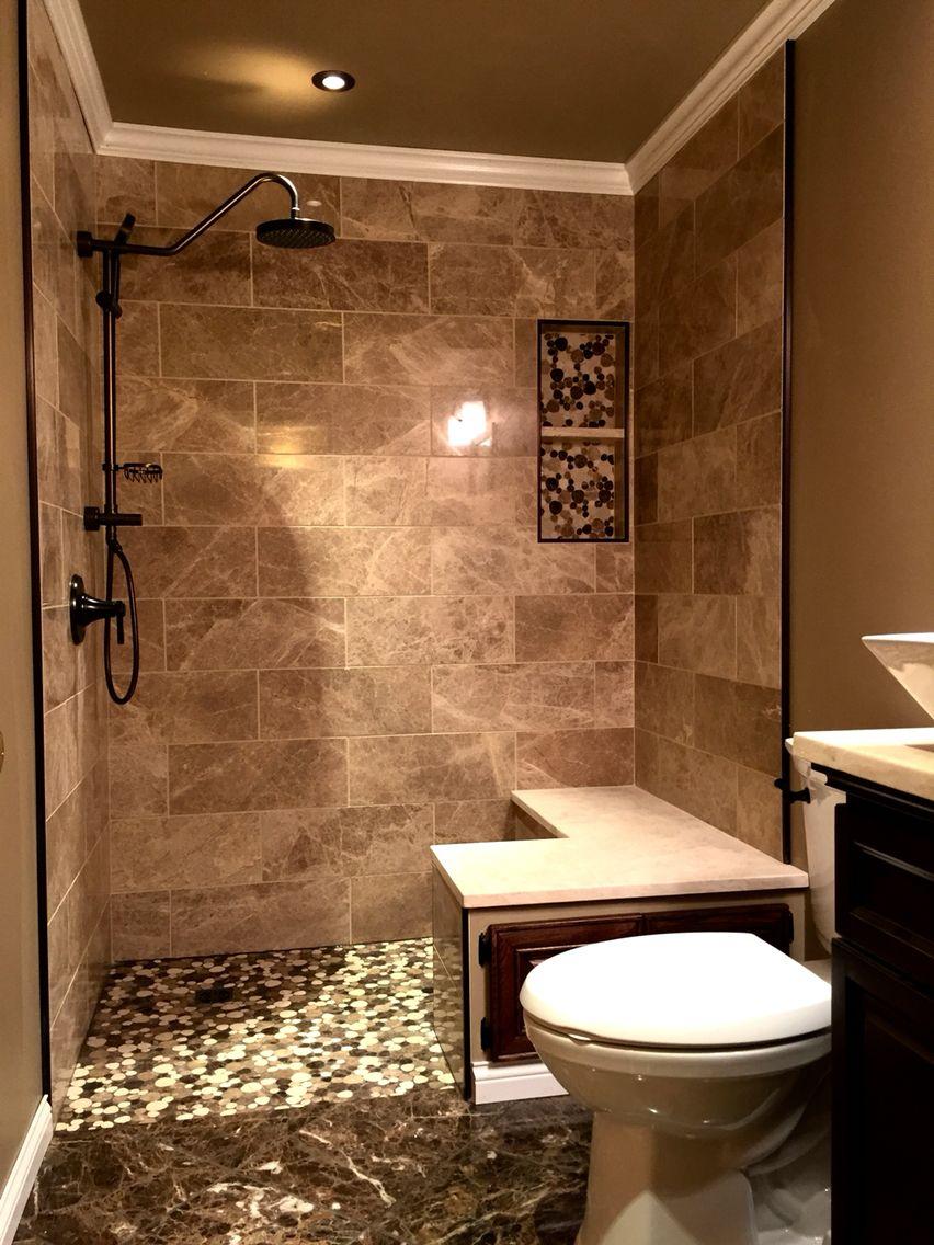 Faith Amp Mike39s Master Bathroom The Big Reveal Curbless