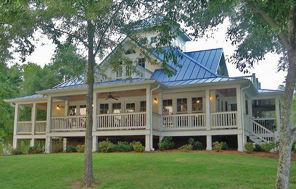 Island Cottage Crawlspace Foundation 2058 Sf Southern Cottages Cottage House Plans Cottage Plan Beach House Plans