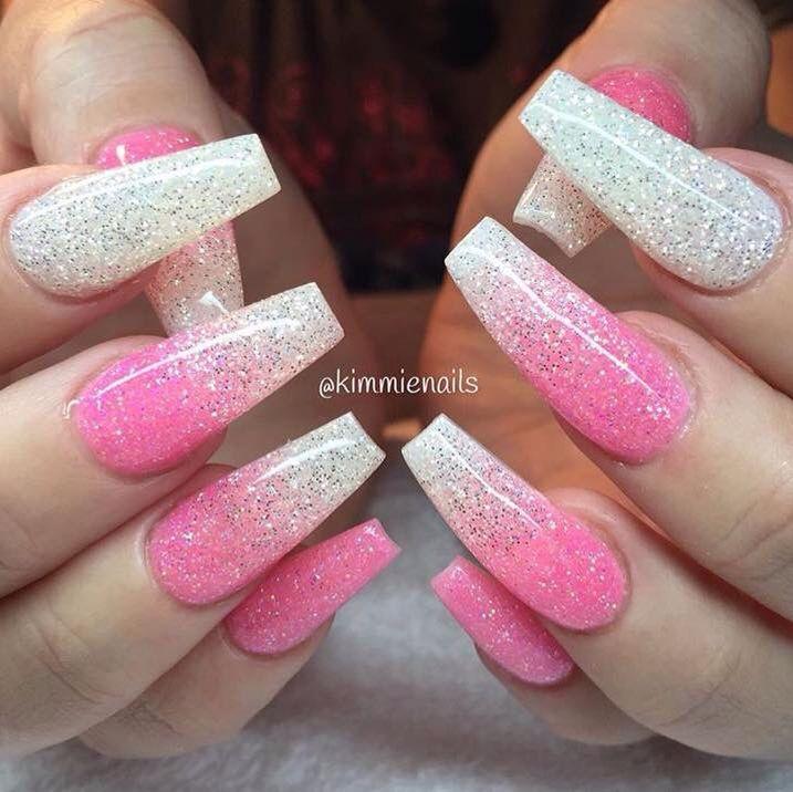 Full set acrylic nails. | Full set nail designs ...