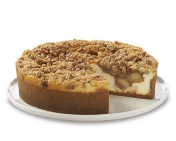 Apple Crumb Cheese Cake At Cheesecake Factory