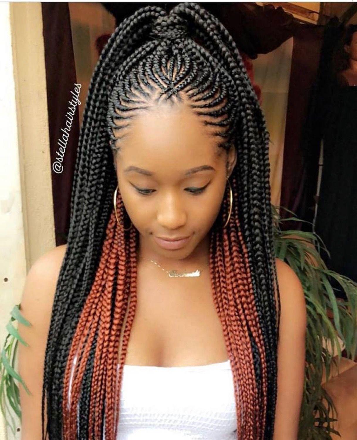 braids | beauty in 2019 | ghana braids hairstyles, braided