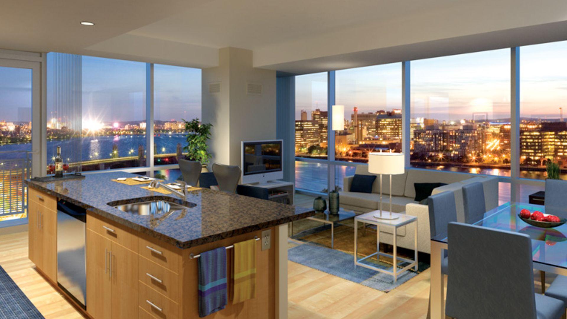 Boston Apartments For Rent Boston Apartment Luxury Bedroom Furniture Coffee Shop Interior Design