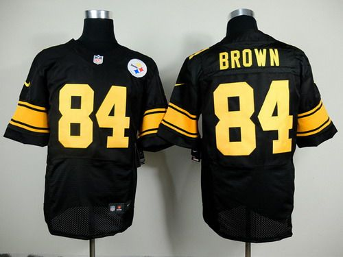 0b226db87d3 ... Jerseys Pinterest 2012 football jersey Pittsburgh Steelers 43 Polamalu  80th anniversary yellow jersey Nike Pittsburgh Steelers 84 Antonio Brown  Black ...