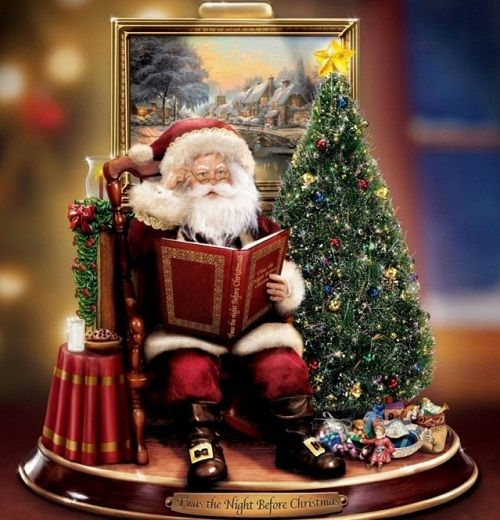 Thomas Kinkade Christmas decoration Thomas kinkade Pinterest