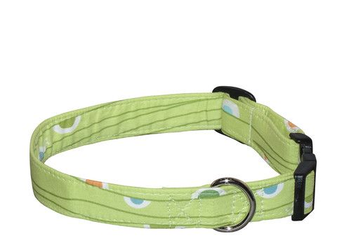 Elmou0027s Closet Sea Foam Dog Collar | PupLife Dog Supplies