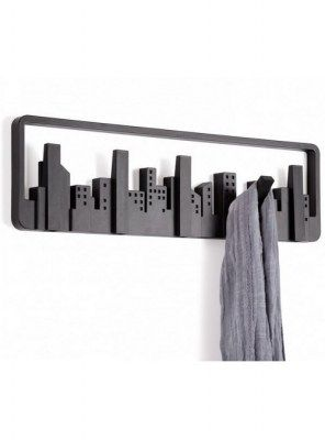 UMBRA SKYLINE MULTI HOOK 318190-040 APPENDIABITI DA MURO DESIGN ...