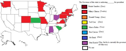 - Which US state governors are endorsing who in the 2016 US...