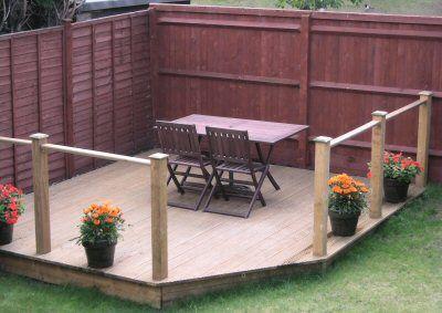 Something Similiar Not Railing Backyard Oasis Patio Landscaping Corner Landscaping
