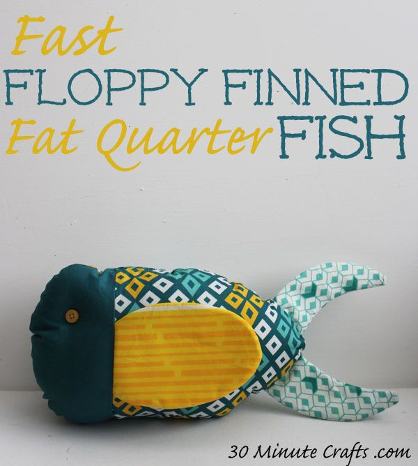 fast floppy finned fat quarter fish | For Reuben | Telas, Muñecas ...
