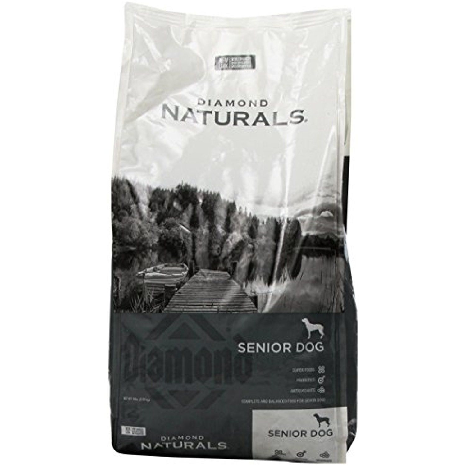 Diamond Naturals Dry Food For Senior Dogs 8 Chicken Egg