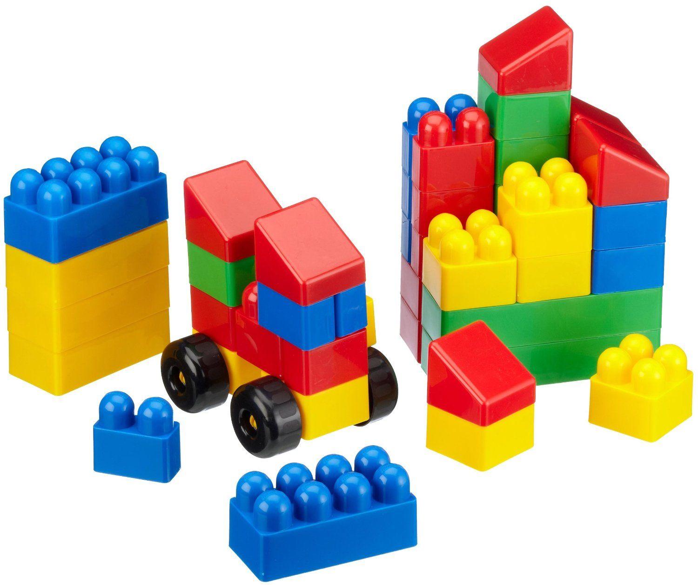 Juego De Bloques De Construcción Para Niños Indicado Para Que Desarrollen Su Imaginación Mientras Juegan Bloque De Juguete Juegos De Construcción Juguetes